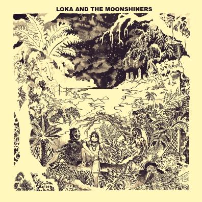 Under the big trees EP's Artwork by Arnaud Rochard - LoKa and the Moonshiners artwork by Arnaud Rochard